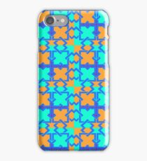 Utopia of colors and lines iPhone Case/Skin