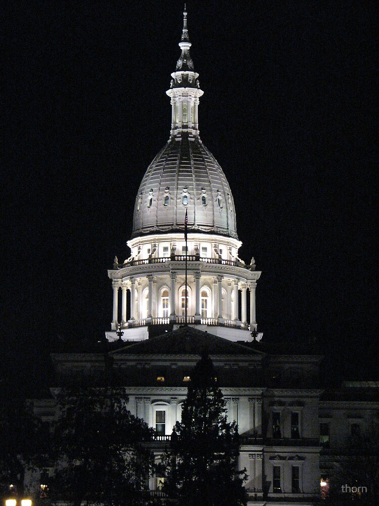 Lansing, MI Capital Building by thorn