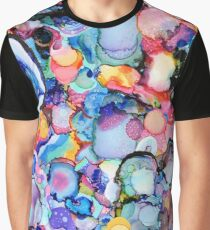 Abstract Ink  Graphic T-Shirt