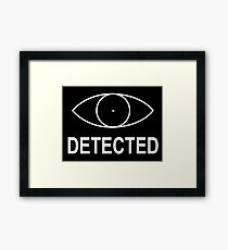 Skyrim - Detected Indicator Framed Print