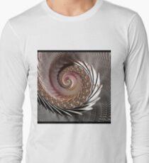 FRACTAL ART, spun glass look, 3D Long Sleeve T-Shirt