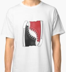 Convers Shoes Black and Red Classic T-Shirt