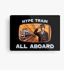 Hype Train Vintage Metal Print