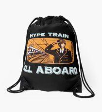 Hype Train Vintage Drawstring Bag