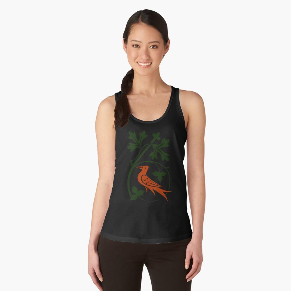 Woodcut birds Women's Tank Top Front