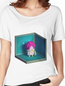 Jester Voxel Women's Relaxed Fit T-Shirt