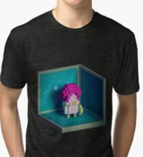 Jester Voxel Tri-blend T-Shirt
