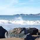 From Behind Beach Rocks by photoartful