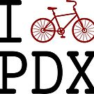 I heart PDX (black text) by boogiebus