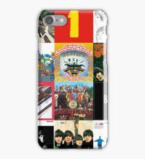 Beatles Album Cover Shirt  iPhone Case/Skin