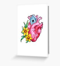 Spring is in the heart Greeting Card
