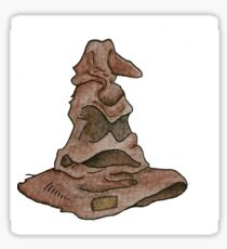Sorting Hat Watercolour Sticker