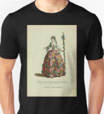 Habit of Perdita in the comedy of the Winter's Tale Perdita dans la comédie intitulée The Winter's Tale 371 Unisex T-Shirt