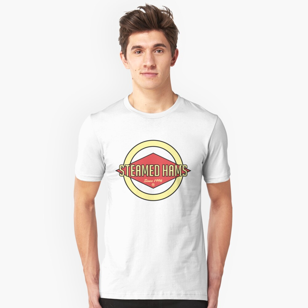 Fat Steamed Hams [Roufxis - RB] Unisex T-Shirt Front