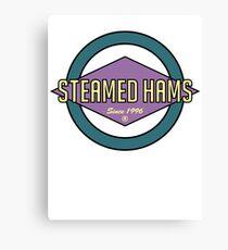 Fat Steamed Hams (Skinner Edition) Canvas Print