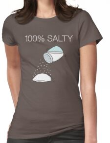 Salty Womens Fitted T-Shirt