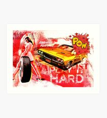 Play It Hard! Art Print