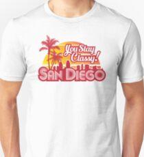 Anchorman - You Stay Classy! San Diego Unisex T-Shirt