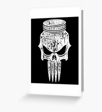 Marines: Punisher Jarhead Greeting Card
