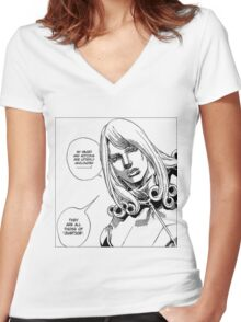They Are All Those of Justice Women's Fitted V-Neck T-Shirt