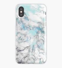Sea of Marble with Faint Scales iPhone Case/Skin