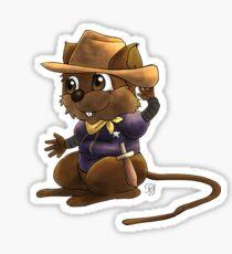 Deputy Alfred Tames the West Sticker