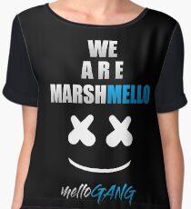 MARSHMELLO (MELLO GANG) Women's Chiffon Top