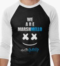 Camiseta ¾ bicolor para hombre MARSHMELLO (MELLO GANG)