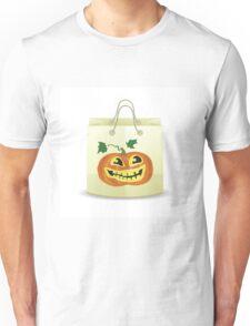 halloween shopping bag Unisex T-Shirt