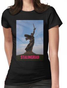 Stalingrad - where the west was saved Womens Fitted T-Shirt