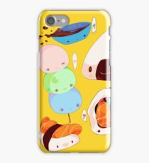 A Very Yummy Sushi Parade! iPhone Case/Skin