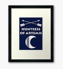 Huntress of Artemis Framed Print