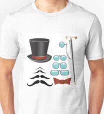 barber scissors and comb Unisex T-Shirt