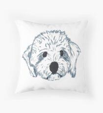 Dasher Dog Throw Pillow