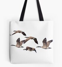 Canadiana geese 6 Tote Bag