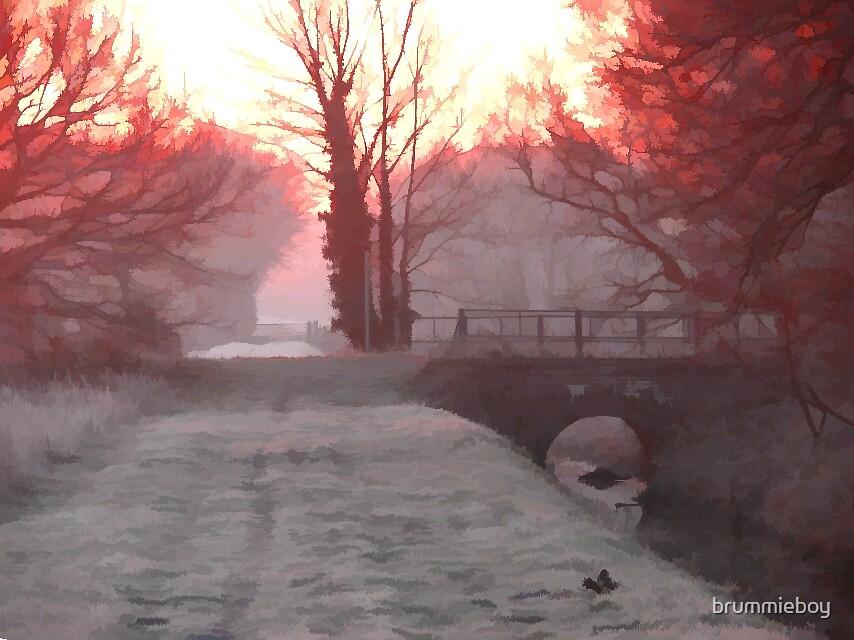 Artistic Winter's Morning by brummieboy