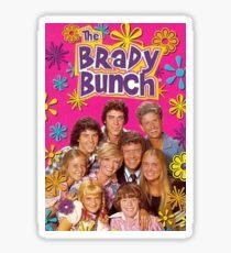 Brady Bunch Sticker  Sticker