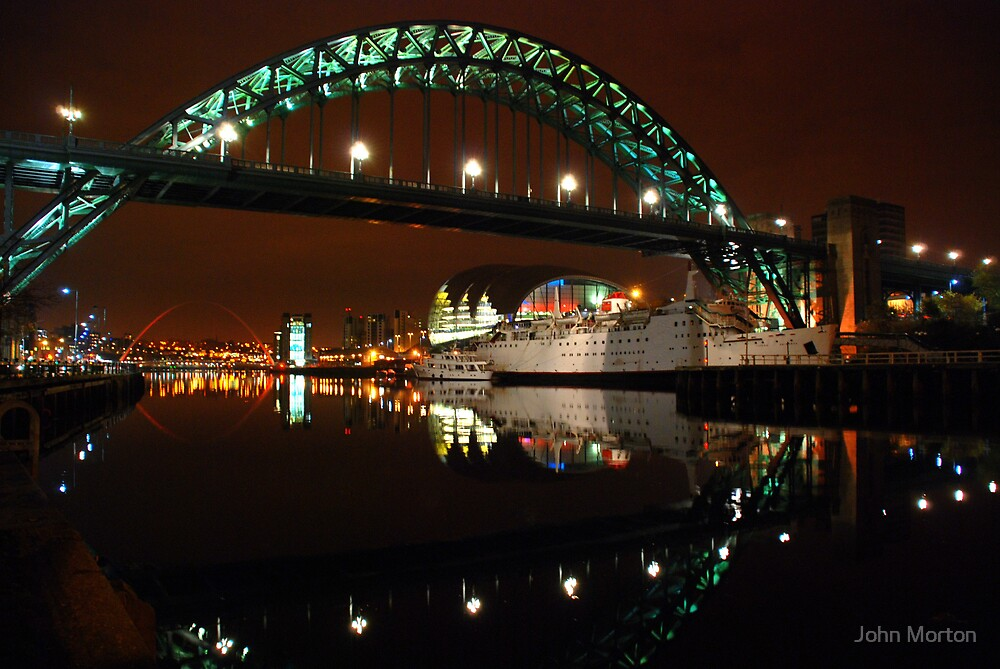 Quayside by John Morton