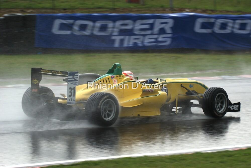 Felipe Nasr in the Wet by Rhiannon D'Averc