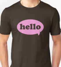 Hello! Unisex T-Shirt