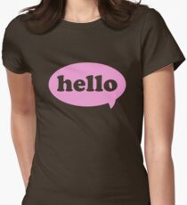 Hello! Women's Fitted T-Shirt