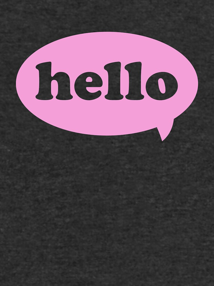 Hello! by justin