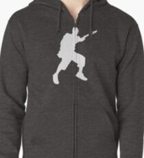 Rock Out Zipped Hoodie