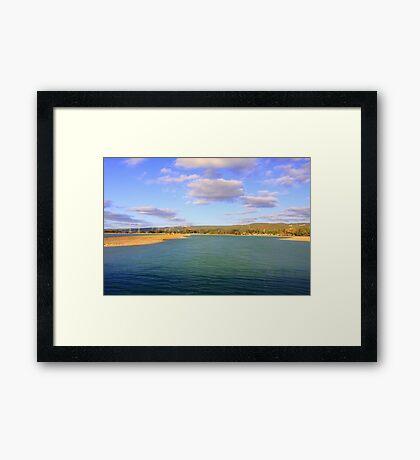 Champion Lake - Afternoon  Framed Print