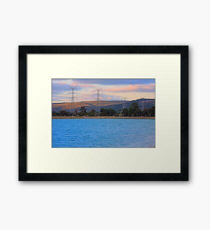 Champion Lake - At Sunset Framed Print