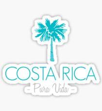 Costa Rica Palm Tree Sticker