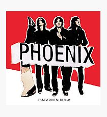 Phoenix Band Album Cover: It's Never Been Like That Photographic Print