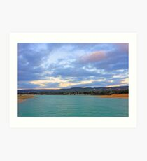 Champion Lake - At Sunset Art Print