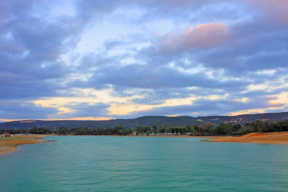 Champion Lake - At Sunset by EOS20