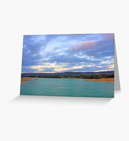 Champion Lake - At Sunset Greeting Card